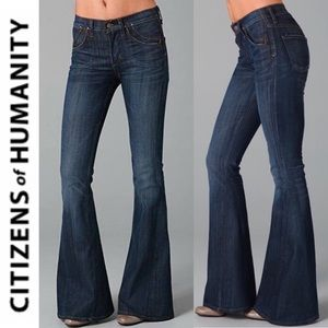 🆕 Citizens of Humanity Angie Super Flare Jeans 25